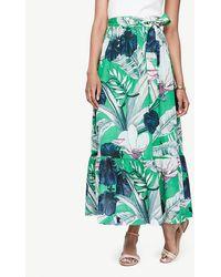 Ann Taylor | Palm Leaf Maxi Skirt | Lyst