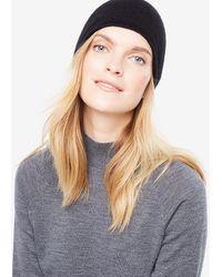 Ann Taylor - Cashmere Jersey Hat - Lyst
