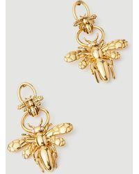 Ann Taylor Bee Drop Earrings - Metallic