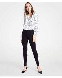 Ann Taylor - Modern All Day Skinny Jeans In Black - Lyst