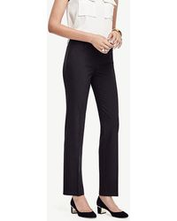 Ann Taylor | The Petite Straight Leg Pant In All-season Stretch - Ann Fit | Lyst