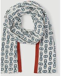 Ann Taylor Chain Link Scarf - Multicolour