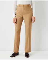 Ann Taylor The Straight Pant - Curvy Fit - Natural