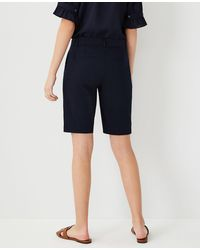 Ann Taylor The Petite Boardwalk Short - Curvy Fit - Blue