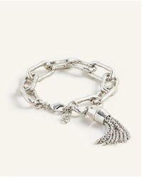 Ann Taylor Bamboo Bracelet - Metallic