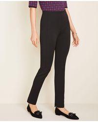 Ann Taylor The Tall Audrey Pant In Bi-stretch - Black