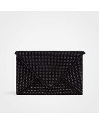 Ann Taylor - Studded Envelope Clutch - Lyst