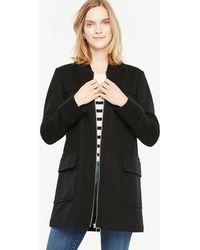 Ann Taylor - Tall Hooded Duffle Coat - Lyst