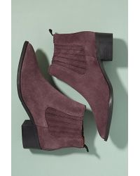 SELECTED - Jessie Suede Cowboy Boots - Lyst