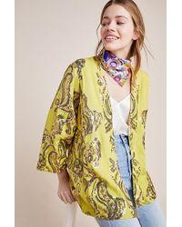 Bl-nk Karie Sequin Kimono - Green