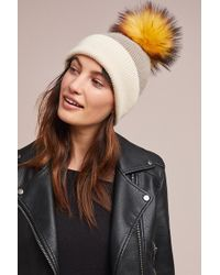 Anthropologie - Snowed In Pommed Beanie - Lyst