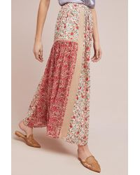 Ranna Gill - Sun Kissed Floral Skirt - Lyst