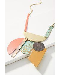 Sibilia | Good Fortune Bib Necklace | Lyst