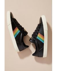 3719c8a9d36 Puma Rainbow Sneakers In Fabric And Suede in Black - Lyst