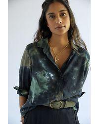 Cloth & Stone Tie-dye Buttondown Shirt - Multicolour