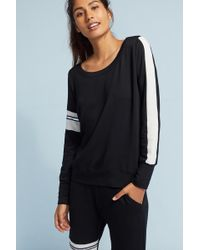 Nesh NYC - Sporty Striped Sweatshirt - Lyst