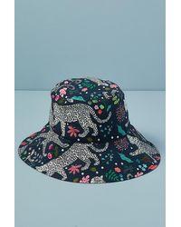 Karen Mabon Leopard-print Bucket Hat - Multicolour