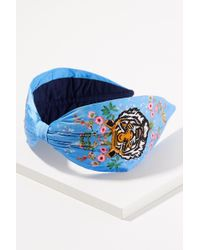Anthropologie - Embroidered Tiger Headband - Lyst