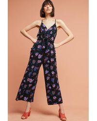 Moulinette Soeurs Willa Tie-waist Jumpsuit - Blue