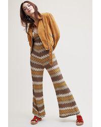 Ottod'Ame - Katarina Crochet Jumpsuit - Lyst