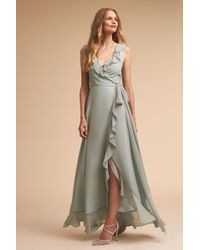 6fd48bf83d2e4 Lyst - Anthropologie Noni Maxi Dress in Pink