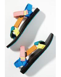 Anthropologie Teva Original Universal Sandals - Multicolour