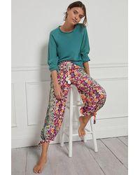 Anthropologie Pantalon sarouel\u00a0Joanie\u00a0 - Multicolore
