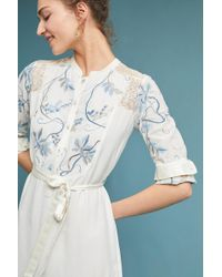 Tiny - Amarante Embroidered Shirtdress - Lyst