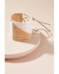 Sidai Designs - Golden Geo Cuff Bracelet - Lyst