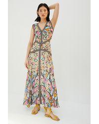 Bhanuni by Jyoti Primavera Cut-out Maxi Dress - Multicolour