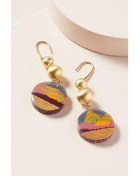 Ejing Zhang Donen Drop Earrings - Multicolour