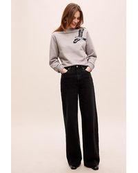 Levi's Ribcage Wide-leg Jeans - Black