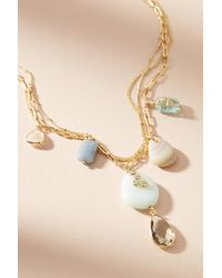 Anthropologie - Mira Layered Pendant Necklace - Lyst