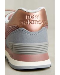new balance 373 womens gold