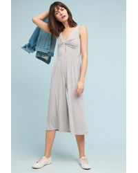 ANAMÁ | Copeland Knotted Jumpsuit | Lyst
