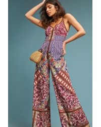 Anthropologie - Blythe Printed Jumpsuit - Lyst
