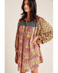Anthropologie Maxine Dolman Sleep Top - Multicolour