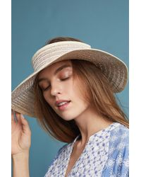 Anthropologie | Metallic Visor | Lyst