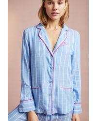 Anthropologie - Sweetly Striped Sleep Shirt - Lyst