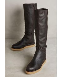 Miss Albright - Braided Knee Boots - Lyst