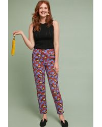 Anthropologie - Janie Cropped Trousers - Lyst