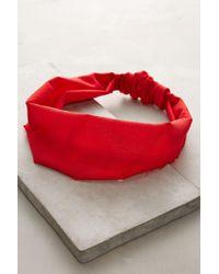 Lena Bernard - Frayed Silk Headband - Lyst