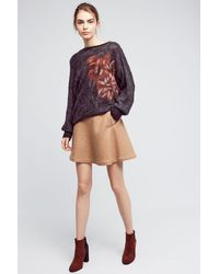 Troubadour - Felted Florals Pullover - Lyst