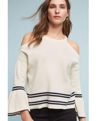 Knitted & Knotted - Leandre Open-shoulder Top - Lyst