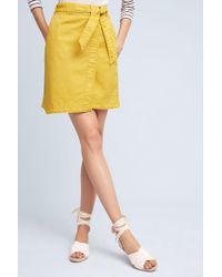 Pilcro - Asymmetrical Chino Skirt - Lyst