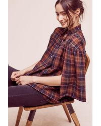 Christine Alcalay | Tess Wool Top | Lyst