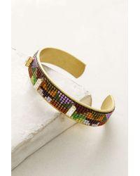 Jill Golden   Inversion Beaded Cuff Bracelet   Lyst