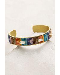 Jill Golden - Continuum Beaded Cuff Bracelet - Lyst