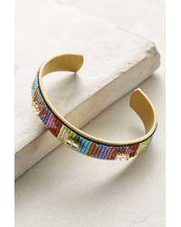 Jill Golden | Continuum Beaded Cuff Bracelet | Lyst