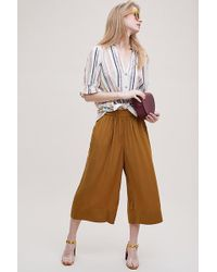 Second Female - Turan Cropped Wide-leg Culottes - Lyst